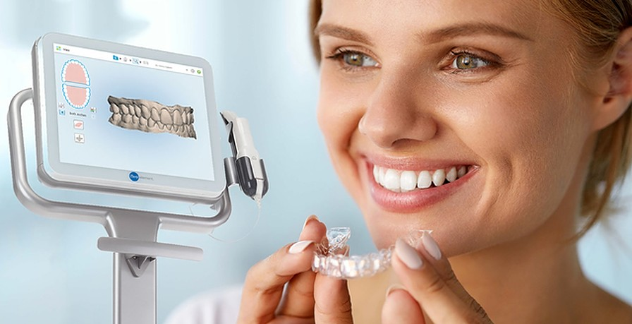 want to straighten your smile introducing invisalign